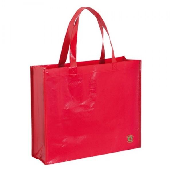 Flubber bevásárlótáska, piros