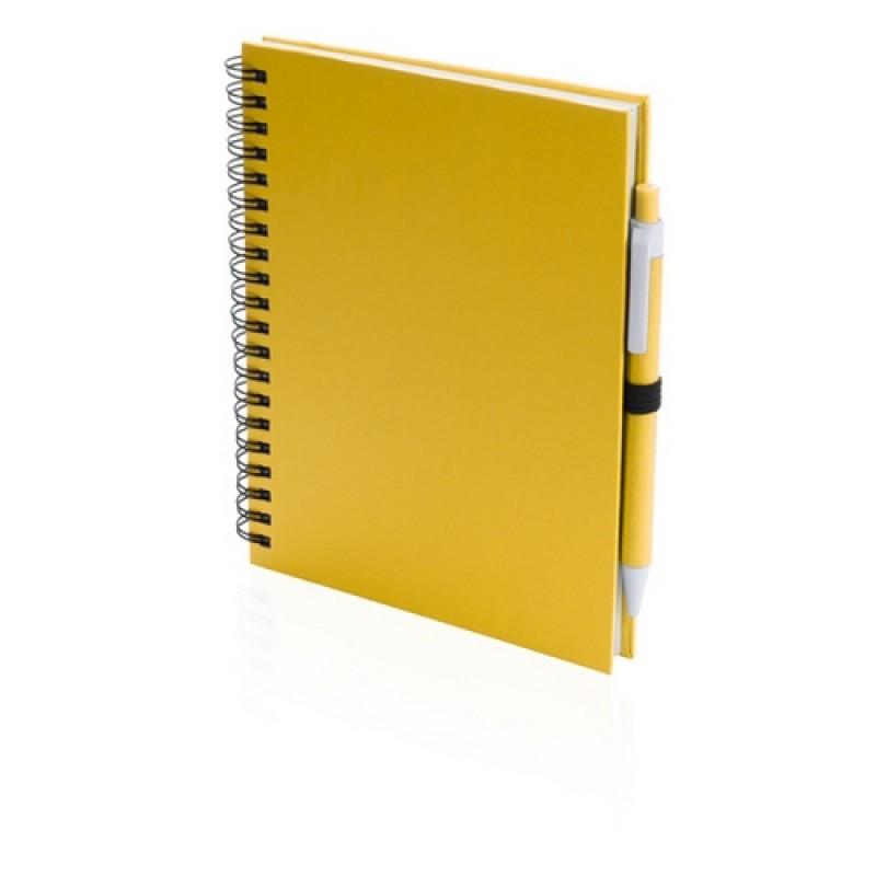 Koguel jegyzetfüzet, sárga