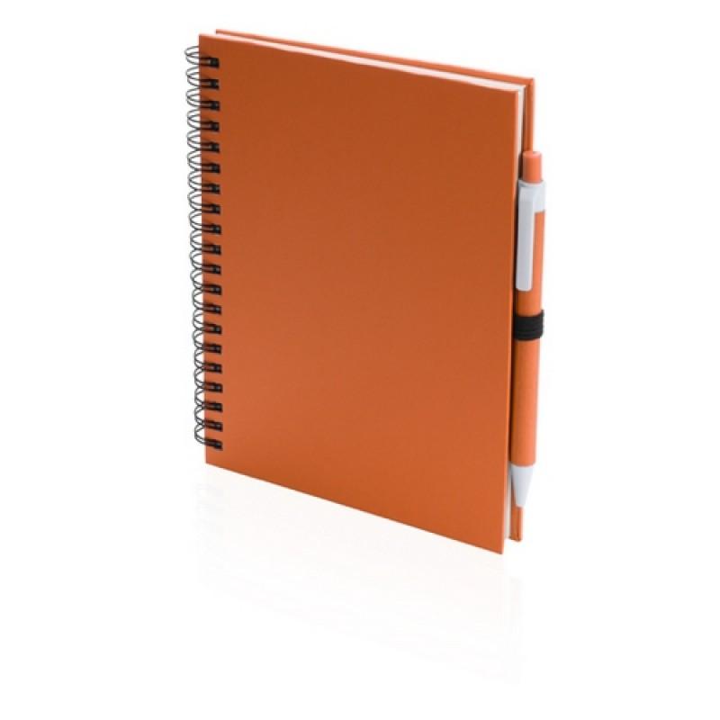 Koguel jegyzetfüzet, narancssárga