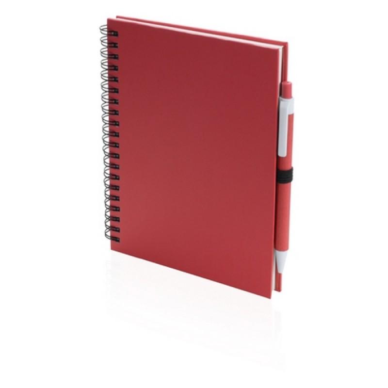 Koguel jegyzetfüzet, piros