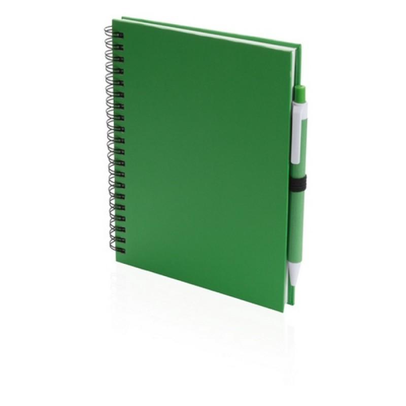 Koguel jegyzetfüzet, zöld