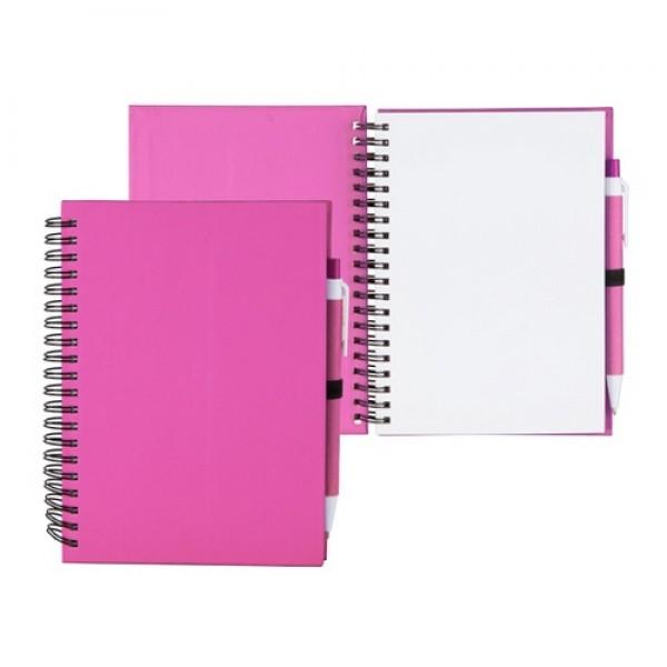 Koguel jegyzetfüzet, pink