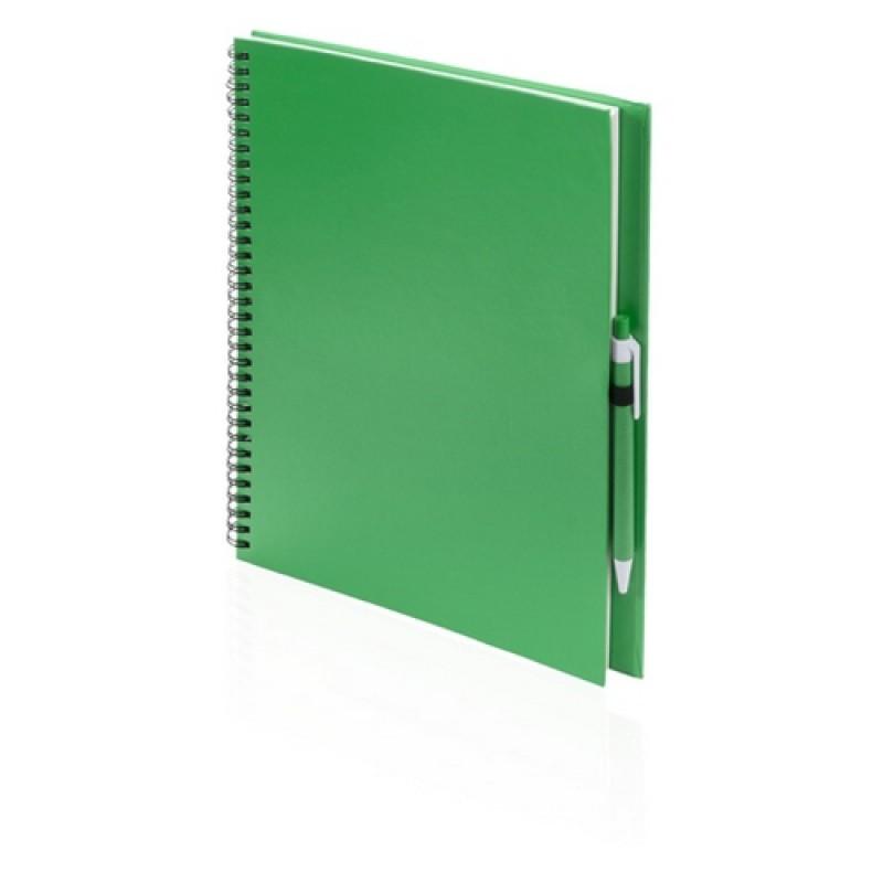 Tecnar jegyzetfüzet, zöld