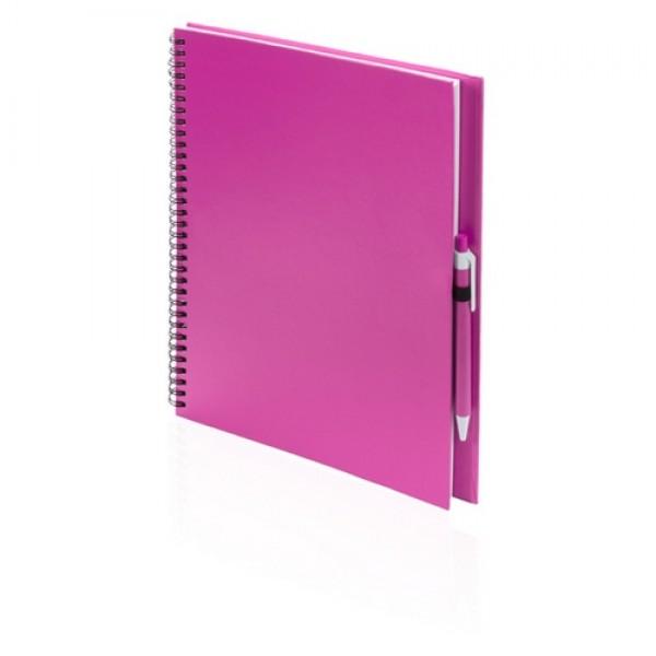 Tecnar jegyzetfüzet, pink