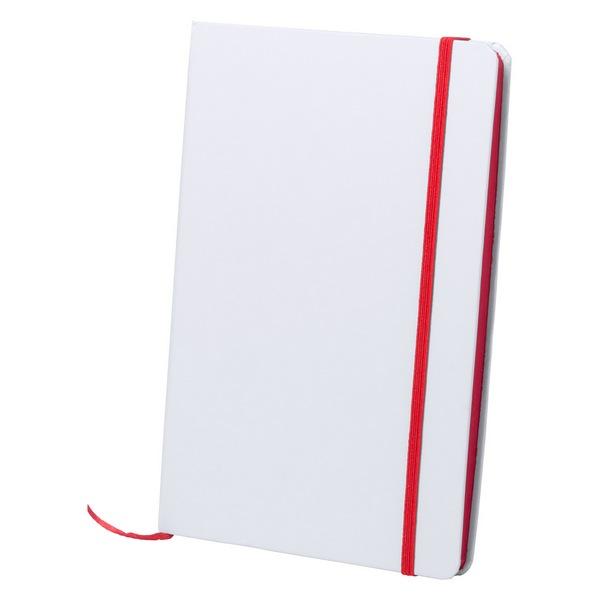 Kaffol jegyzetfüzet , piros