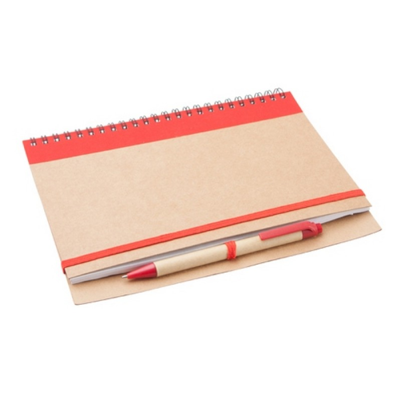 Tunel jegyzetfüzet, piros