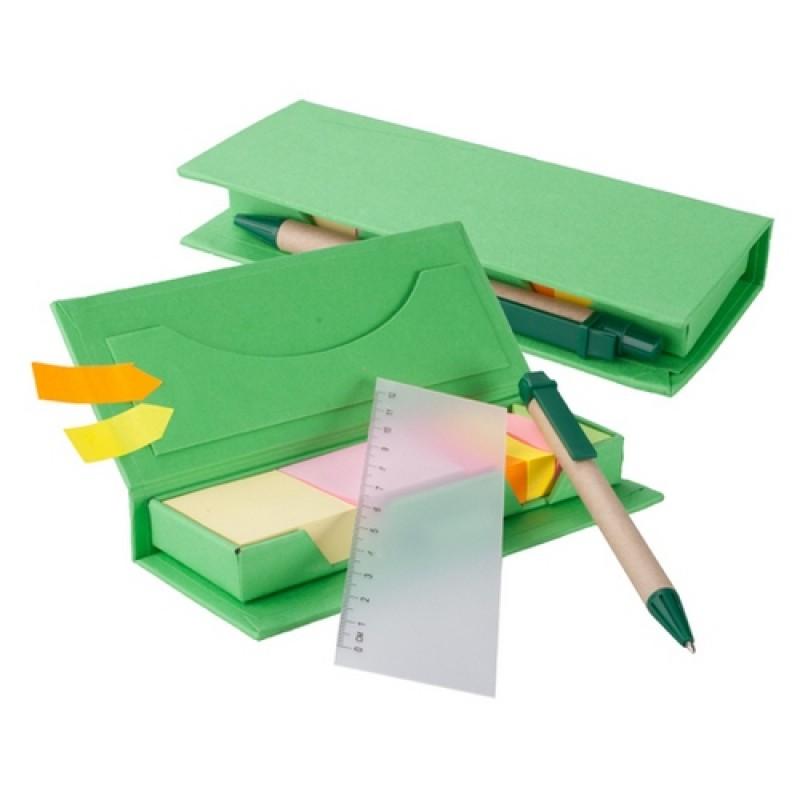 Gale jegyzettömb, zöld