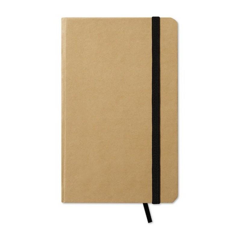 EVERNOTE Újrahasznosított jegyzetfüzet , fekete
