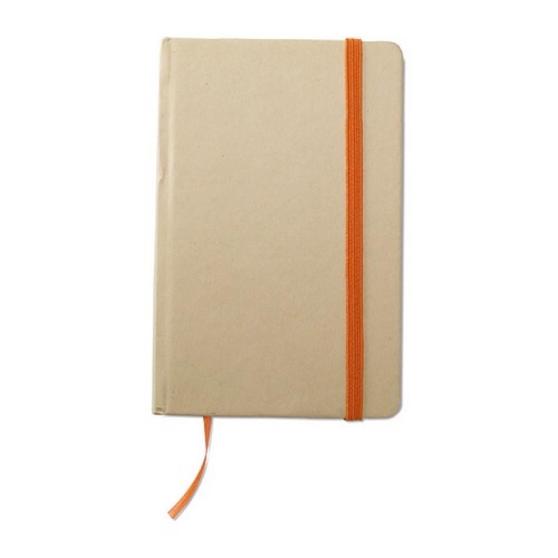 EVERNOTE Újrahasznosított jegyzetfüzet , narancssárga