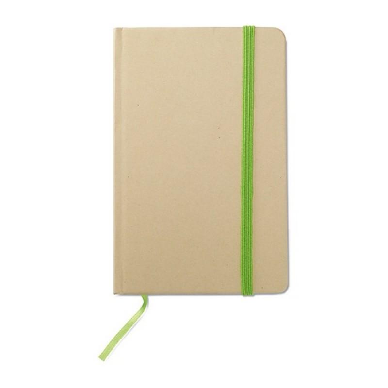 EVERNOTE Újrahasznosított jegyzetfüzet , lime