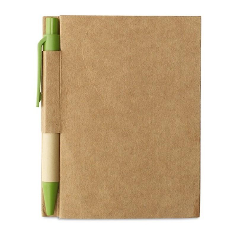 CARTOPAD Környezetbarát jegyzetfüzet , lime